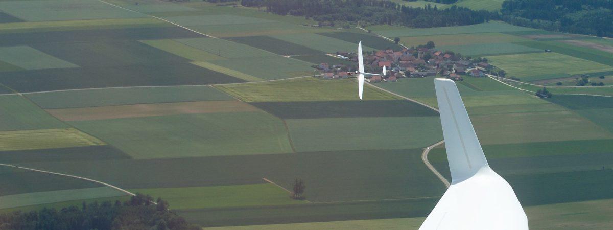LS4 über Schutzendorf